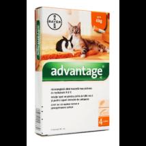 Advantage 40 0,4 ml 4 kg-ig 1db