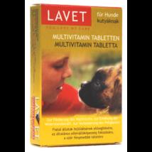 Lavet multivitamin tabletta kutya 50 db/doboz