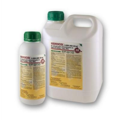 Hidrocol 4.000.000 NE/ml oldat 1 liter (kolisztin)